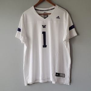 Adidas Washington Huskies Short Sleeve Shirt 2XL